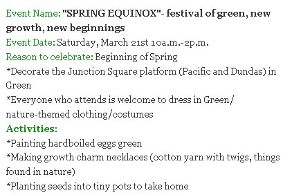 Junction parents blog spring-equinox