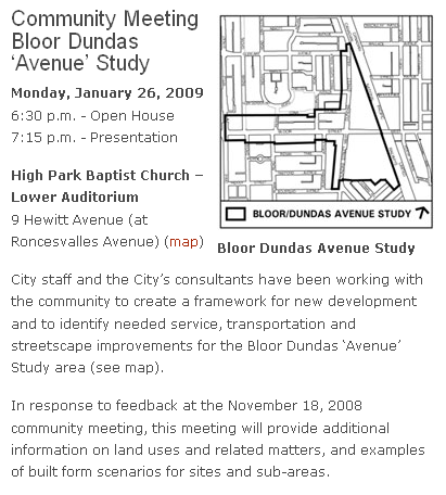 South Junction Triangle RA notice of meeting tonight