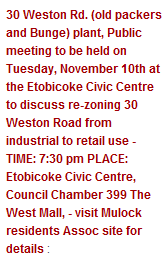 30 weston rd meeting AM