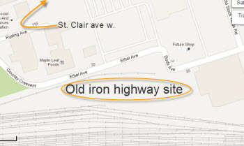 old iron highway site