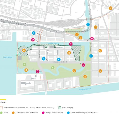 Port Lands Flood Protection Project image