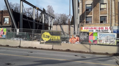 Eglinton Ave. LRT For all our remove building to build subway
